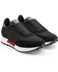 Moncler - Horace Trainers With Suede - Lyst