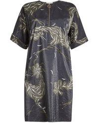 Nina Ricci - Printed Dress - Lyst