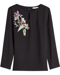 Etro - Embroidered Blouse - Lyst