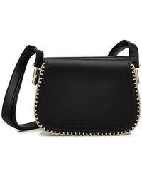 Carven | Embellished Leather Shoulder Bag | Lyst