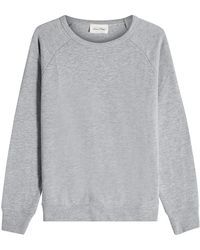 American Vintage - Sweatshirt With Cotton - Lyst
