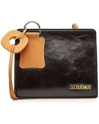 Jacquemus - Eivissa Leather Shoulder Bag - Lyst