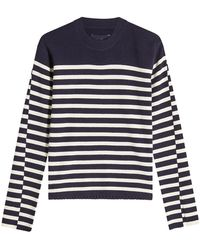Zadig & Voltaire - Striped Wool Pullover - Lyst