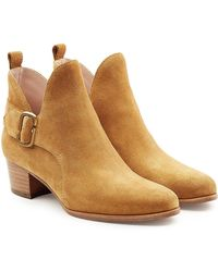 Marc Jacobs - Suede Ankle Boots - Lyst