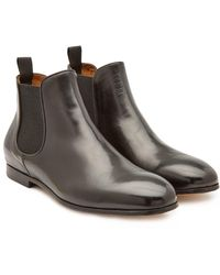 1649e15bc24ba Officine Creative Suede Ankle Boots in Brown for Men - Lyst