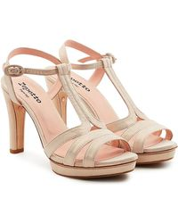Repetto | Bikini Suede Sandals | Lyst