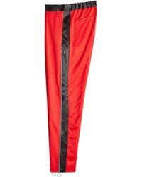 Marques'Almeida - Side Stripe Virgin Wool Pants With Zippers - Lyst