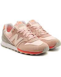 New Balance - Wr996d Trainers With Suede And Mesh - Lyst