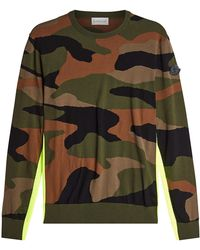 Moncler - Camouflage Pullover - Lyst