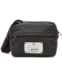 aadc92d43 Lyst - Y-3 Qasa Fannybag in Black for Men