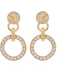 Versace - Medusa Earrings - Lyst