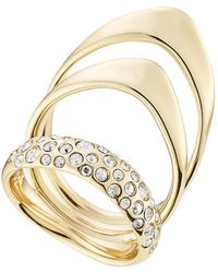 Alexis Bittar | Triple Ring With Crystals | Lyst