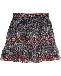IRO - Printed Skirt - Lyst