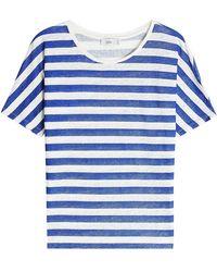 Closed - Linen T-shirt - Lyst