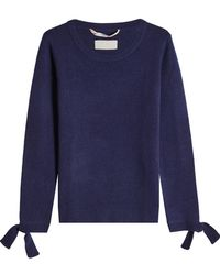 81hours - Pullover With Superfine Wool And Cashmere - Lyst
