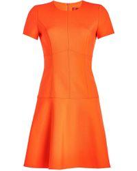HUGO - Karlia Fit And Flare Dress - Lyst