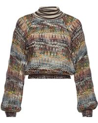 Missoni - Knit Pullover With Mohair And Alpaca - Lyst