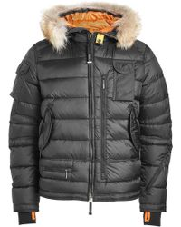 Parajumpers - Skimaster Quilted Down Jacket With Fur Trimmed Hood - Lyst