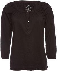 Velvet - Lind Cotton Top - Lyst