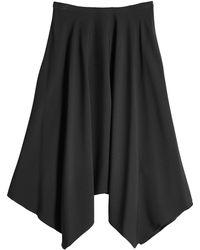 Nina Ricci - Midi Skirt With Handkerchief Hem - Lyst