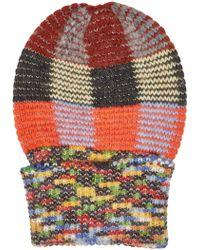Gucci GG Alpaca Wool Hat in Blue - Lyst 570669fe5839