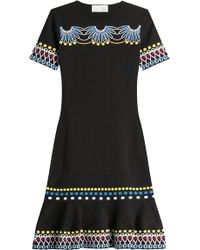 Peter Pilotto - Intarsia Knit Dress - Lyst