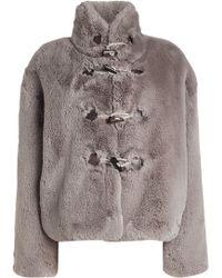 Golden Goose Deluxe Brand - Shedir Faux Fur Jacket - Lyst