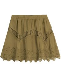 IRO - Embroidered Mini Skirt - Lyst