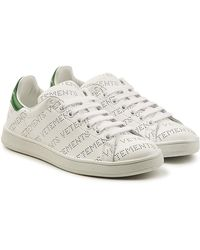 Vetements - Perforated Logo Leather Trainers - Lyst