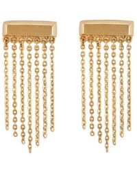 Melinda Maria - Haillie Fringe Earrings - Lyst