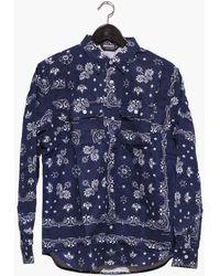 Undefeated - Uf Bandana Flannel Shirt - Lyst