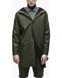 Rains - Long Jacket - Lyst