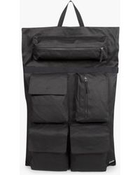 Eastpak - X Raf Simons Poster Backpack Bl Cot Punk W - Lyst