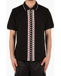 Stussy - Julian Intarsia Cotton-piqué Polo Shirt - Lyst