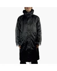 hot sale nice shoes best adidas Originals Quilt Parka In Blue Ay9138 in Blue for Men ...