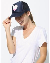 Sundry - Heart Trucker Hat - Lyst