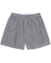 Sunspel - Men's Liberty Printed Cotton Boxer Shorts In Art Deco Geo - Lyst