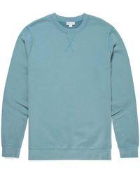 d25562408 Men's Cotton Loopback Sweatshirt In Aqua