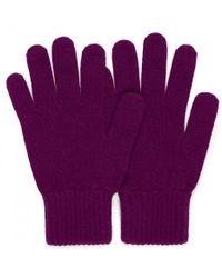 Sunspel - Women's Cashmere Gloves In Reed - Lyst