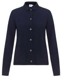 Sunspel - Women's Vintage Wool Cardigan In Navy - Lyst