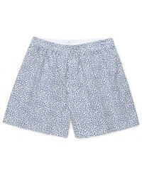 Sunspel - Men's Liberty Printed Cotton Boxer Shorts In Winter Buds - Lyst