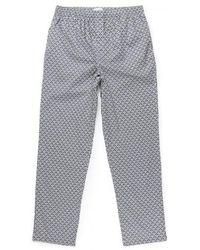 Sunspel - Men's Liberty Printed Cotton Pyjama Bottoms In Art Deco Geo - Lyst