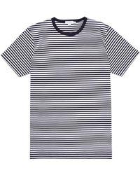 d568d6f20214 Sunspel Men's English-spun Cotton 1937 T-shirt In Navy in Blue for Men -  Lyst
