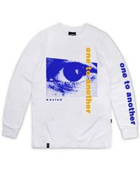 Wastedparis - Ever Long Sleeves Tshirt White One To Another - Lyst