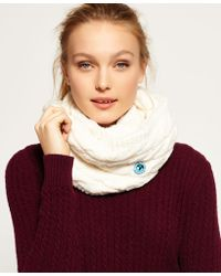 Superdry - Clarrie Snood - Lyst