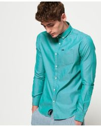 Superdry - Pinpoint Oxford Shirt - Lyst