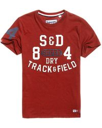 Superdry - Trackster T-shirt - Lyst
