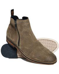 Superdry - Trenton Zip Boots - Lyst