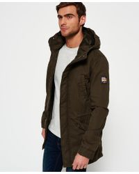 Superdry | Classic Rookie Military Parka Coat | Lyst