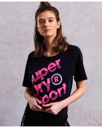 Superdry - Sport Label Hot T-shirt - Lyst